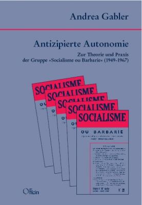 Gabler, Andrea: Antizipierte Autonomie